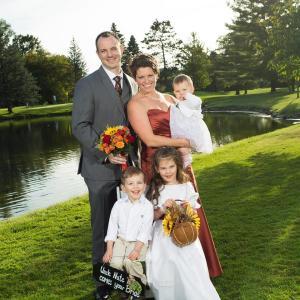 family wedding pic