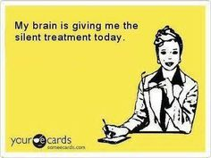 Brain silent treatment