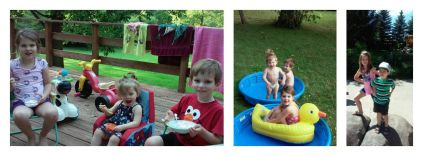2015 kids summer collage