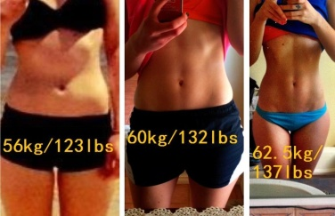 Muscle vs fat- 3 image